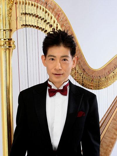 ハープ・ピアノ・編曲:朝川朋之 錦織 健 テノール・リサイタル ハープ・ピアノ・編曲:朝川朋之