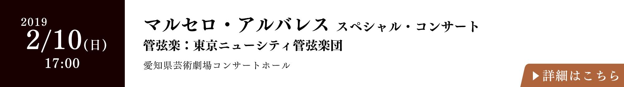 マルセロ・アルバレス スペシャル・コンサート 管弦楽:東京ニューシティ管弦楽団