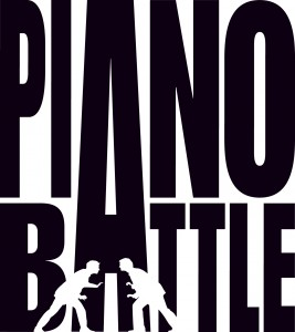 PIANO BATTLE Logo (schwarz auf weiss)